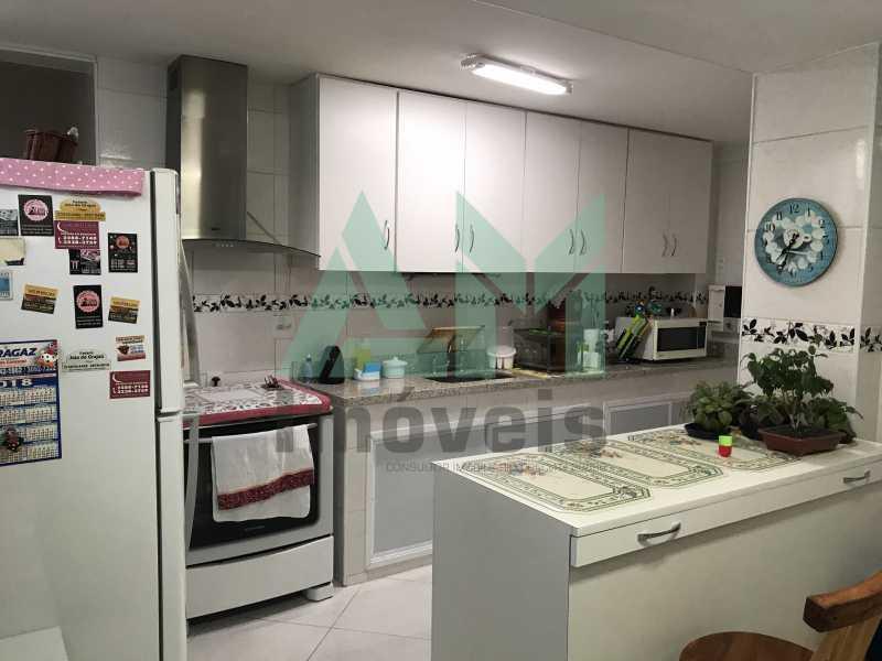 Cozinha - Apartamento À Venda - Grajaú - Rio de Janeiro - RJ - 1118 - 19