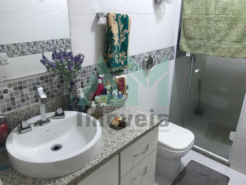 Banheiro Social - Apartamento À Venda - Grajaú - Rio de Janeiro - RJ - 1118 - 15