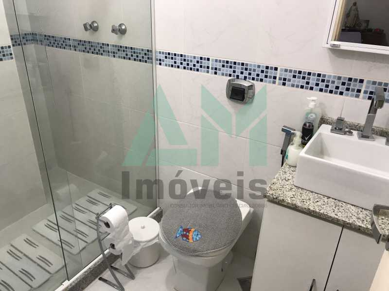 Banheiro Suíte - Apartamento À Venda - Grajaú - Rio de Janeiro - RJ - 1118 - 16