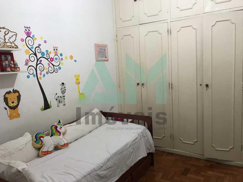 Quarto - Apartamento À Venda - Grajaú - Rio de Janeiro - RJ - 1119 - 9