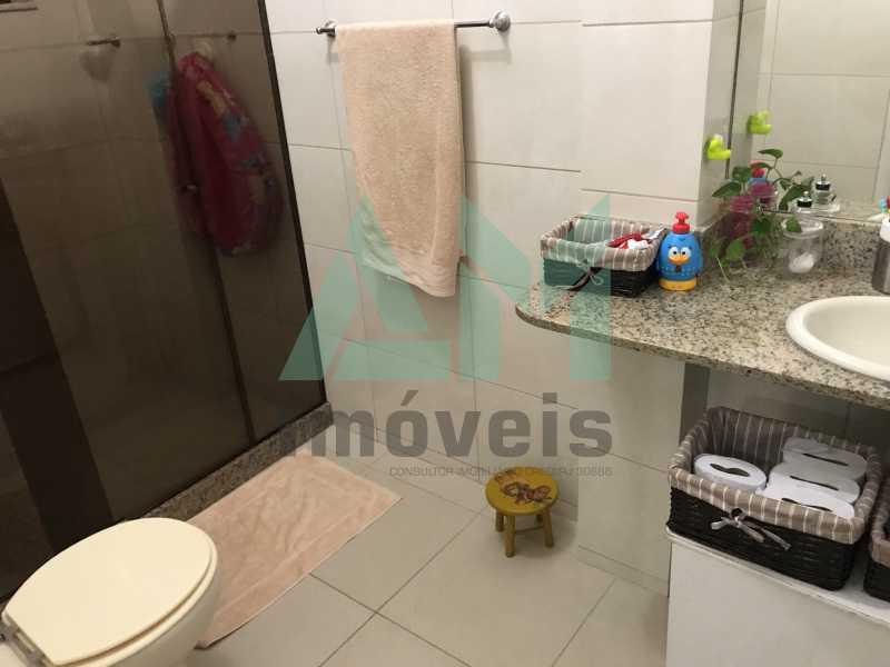Banheiro Social - Apartamento À Venda - Grajaú - Rio de Janeiro - RJ - 1119 - 14