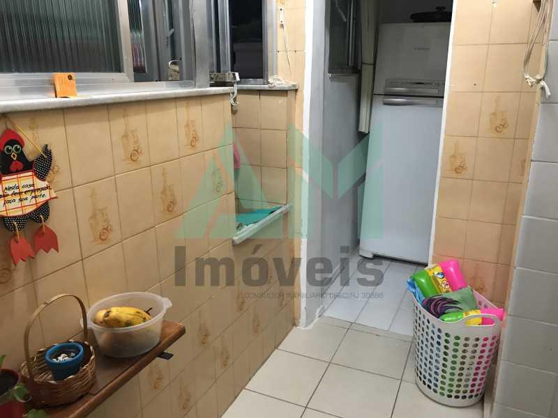 Área de Serviço - Apartamento À Venda - Grajaú - Rio de Janeiro - RJ - 1119 - 17
