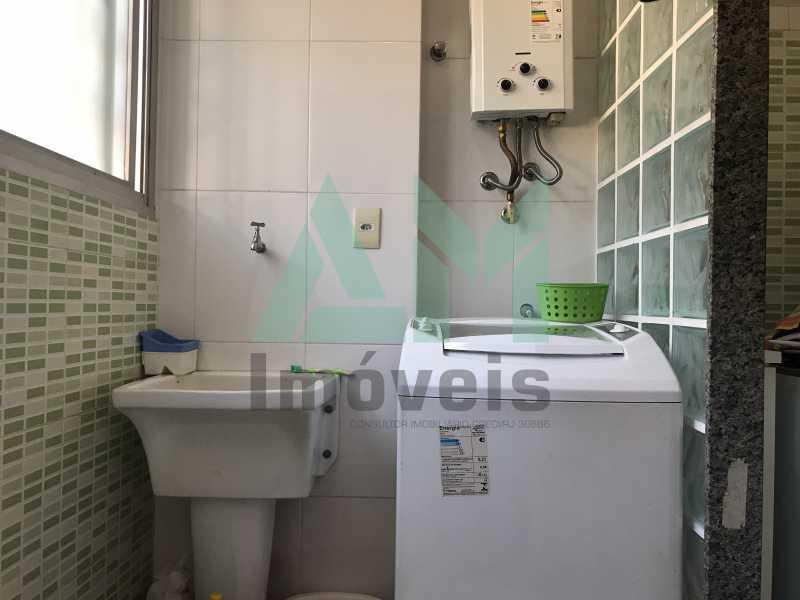 Área de Serviço - Apartamento À Venda - Tijuca - Rio de Janeiro - RJ - 1123 - 16