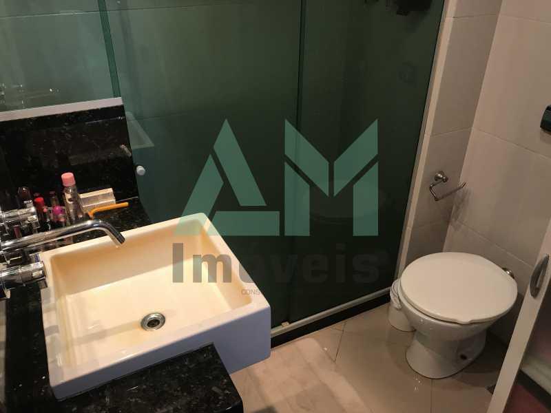 Banheiro Social - Apartamento À Venda - Tijuca - Rio de Janeiro - RJ - 1123 - 12