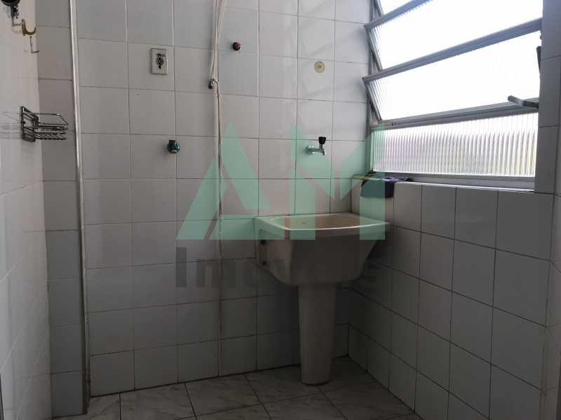 Área de Serviço - Apartamento À Venda - Tijuca - Rio de Janeiro - RJ - 1126 - 17