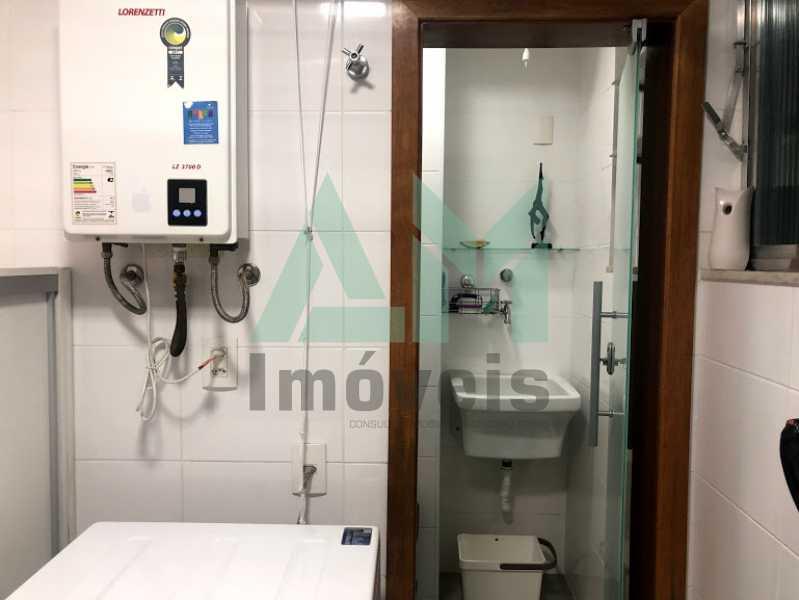 banheiro servico - Apartamento À Venda - Tijuca - Rio de Janeiro - RJ - 1140 - 20