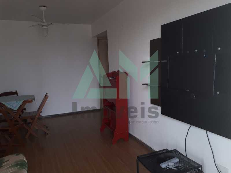 Sala - Apartamento Para Venda ou Aluguel - Riachuelo - Rio de Janeiro - RJ - 1144 - 3