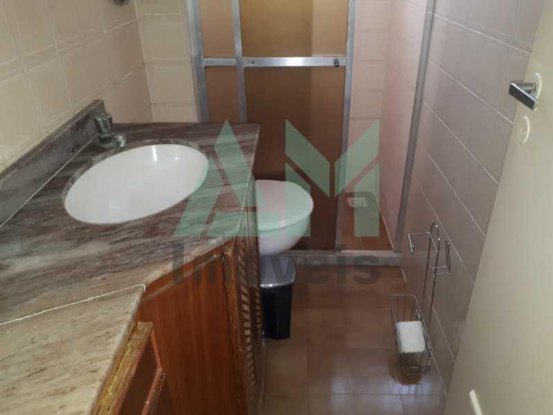 Banheiro Social - Apartamento Para Venda ou Aluguel - Riachuelo - Rio de Janeiro - RJ - 1144 - 10