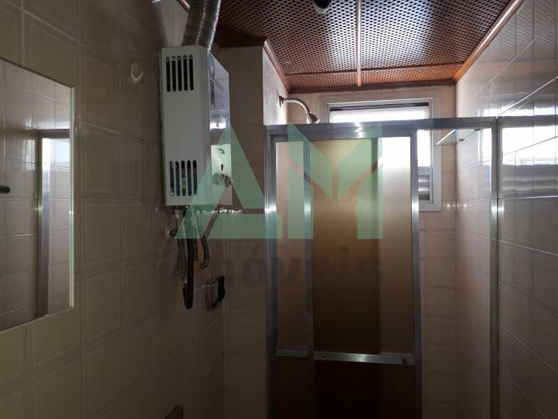 Banheiro Social - Apartamento Para Venda ou Aluguel - Riachuelo - Rio de Janeiro - RJ - 1144 - 13