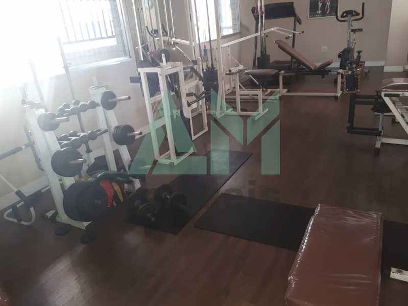 Academia - Apartamento Para Venda ou Aluguel - Riachuelo - Rio de Janeiro - RJ - 1144 - 17