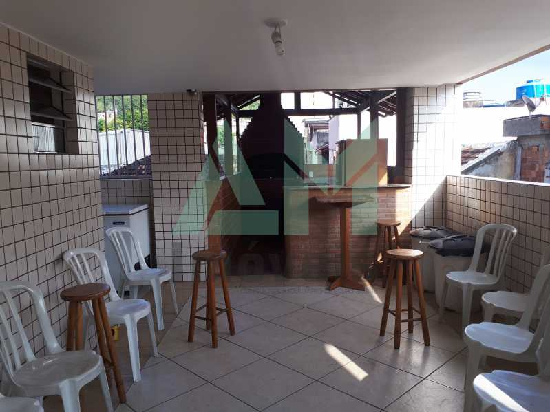 Churrasqueira - Apartamento Para Venda ou Aluguel - Riachuelo - Rio de Janeiro - RJ - 1144 - 19