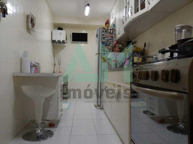 Cozinha  - Apartamento À Venda - Grajaú - Rio de Janeiro - RJ - 1146 - 13