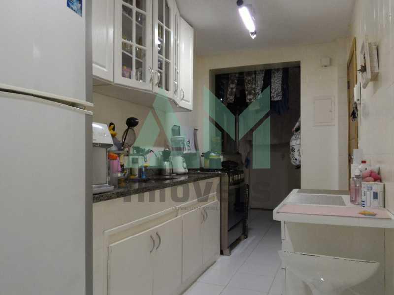 Cozinha  - Apartamento À Venda - Grajaú - Rio de Janeiro - RJ - 1146 - 12