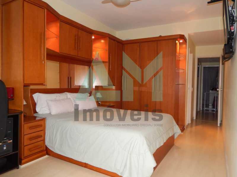 Quarto  - Apartamento À Venda - Grajaú - Rio de Janeiro - RJ - 1146 - 8