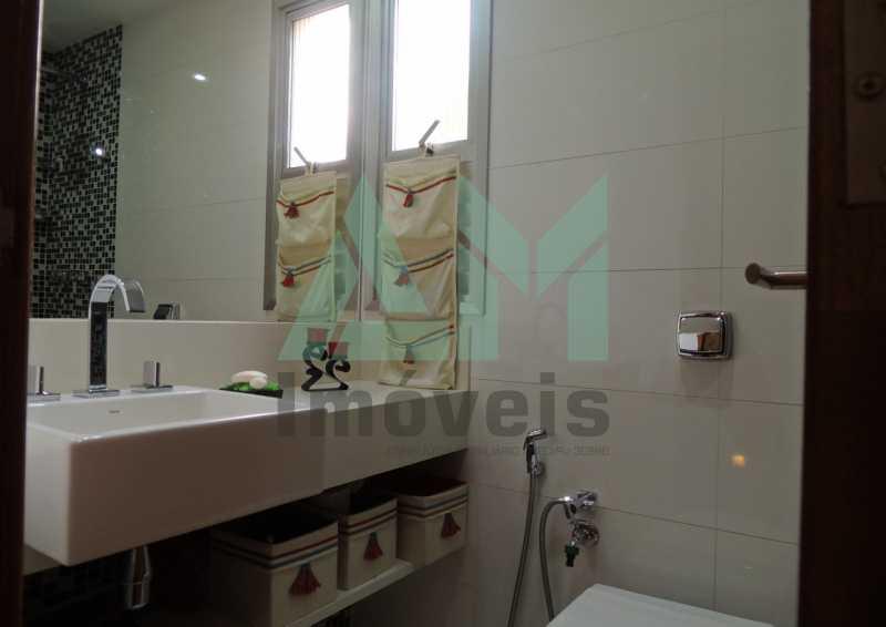 Banheiro Social - Apartamento À Venda - Tijuca - Rio de Janeiro - RJ - 1015 - 15
