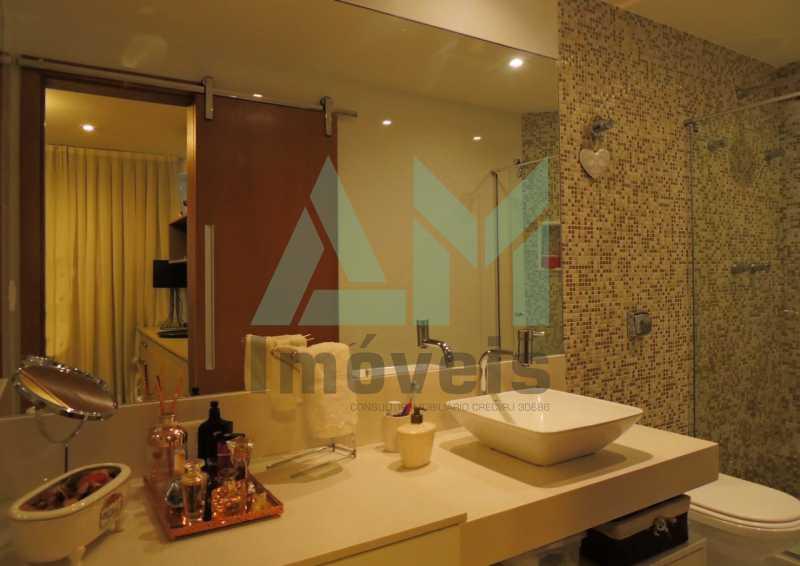 Banheiro Suíte - Apartamento À Venda - Tijuca - Rio de Janeiro - RJ - 1015 - 16