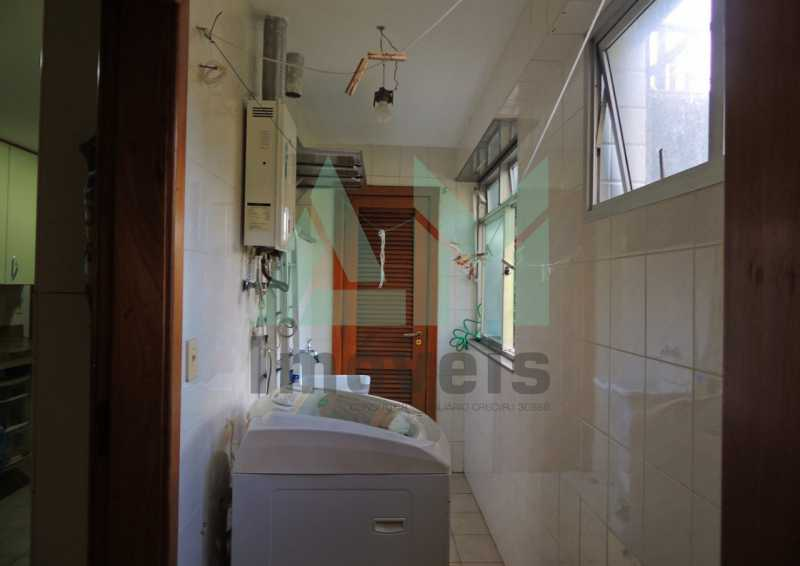 Área de Serviço - Apartamento À Venda - Tijuca - Rio de Janeiro - RJ - 1015 - 19