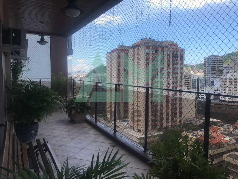 Varanda - Apartamento À Venda - Tijuca - Rio de Janeiro - RJ - 1161 - 6