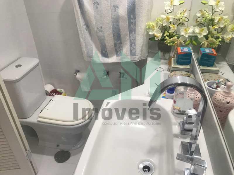 Banheiro Suíte - Apartamento À Venda - Tijuca - Rio de Janeiro - RJ - 1161 - 12