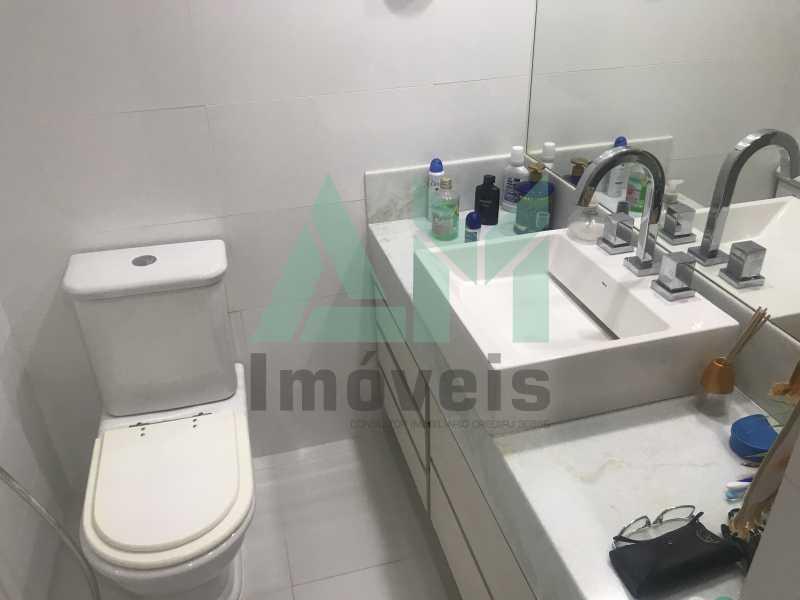 Banheiro Social - Apartamento À Venda - Tijuca - Rio de Janeiro - RJ - 1161 - 11