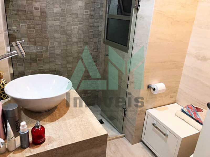Banheiro Suíte - Apartamento À Venda - Tijuca - Rio de Janeiro - RJ - 1175 - 17