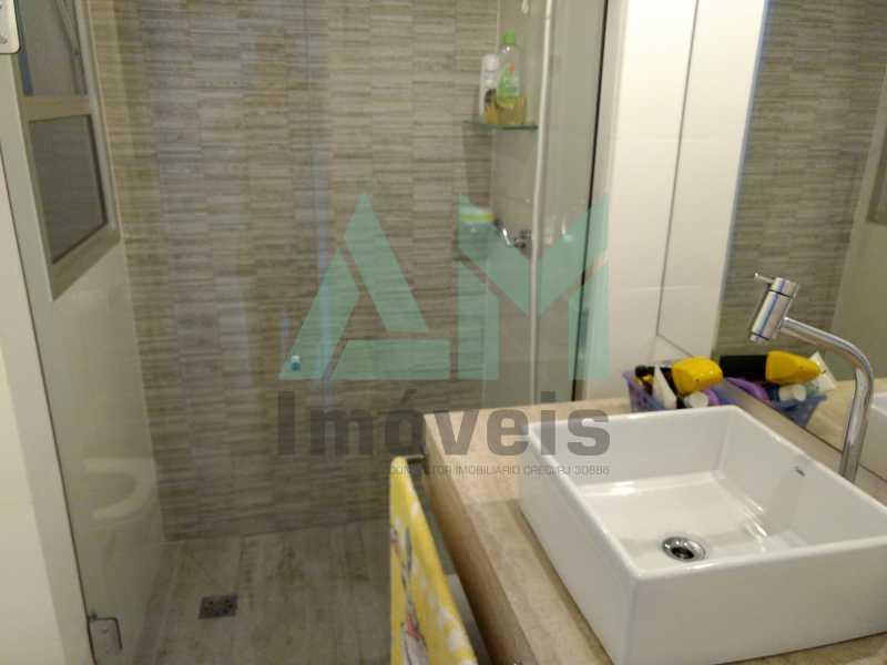 Banheiro Suíte - Apartamento À Venda - Tijuca - Rio de Janeiro - RJ - 1175 - 18