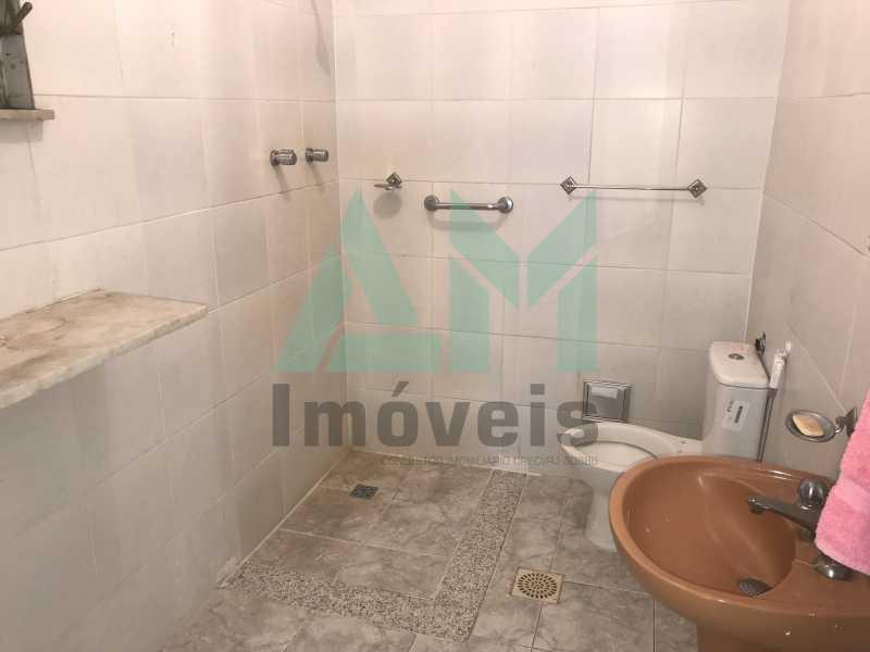 Banheiro Social - Apartamento À Venda - Grajaú - Rio de Janeiro - RJ - 1178 - 9