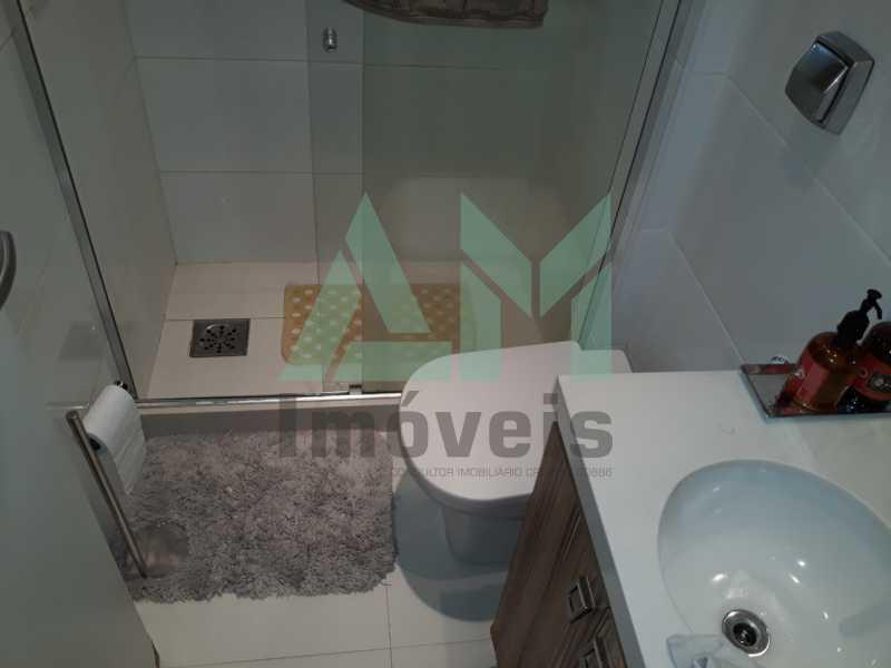 Banheiro Social - Apartamento À Venda - Tijuca - Rio de Janeiro - RJ - 1185 - 14