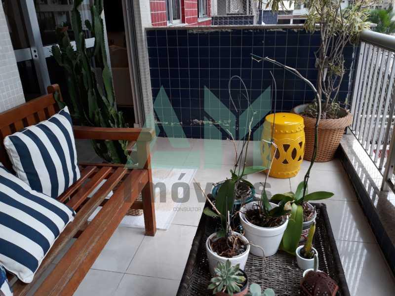 Varanda - Apartamento À Venda - Tijuca - Rio de Janeiro - RJ - 1185 - 3