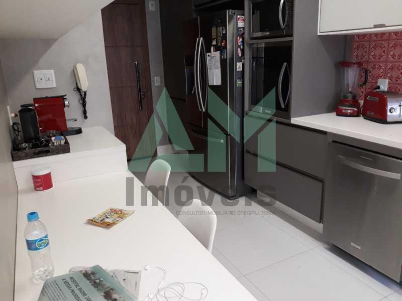 Cozinha - Apartamento À Venda - Tijuca - Rio de Janeiro - RJ - 1185 - 19