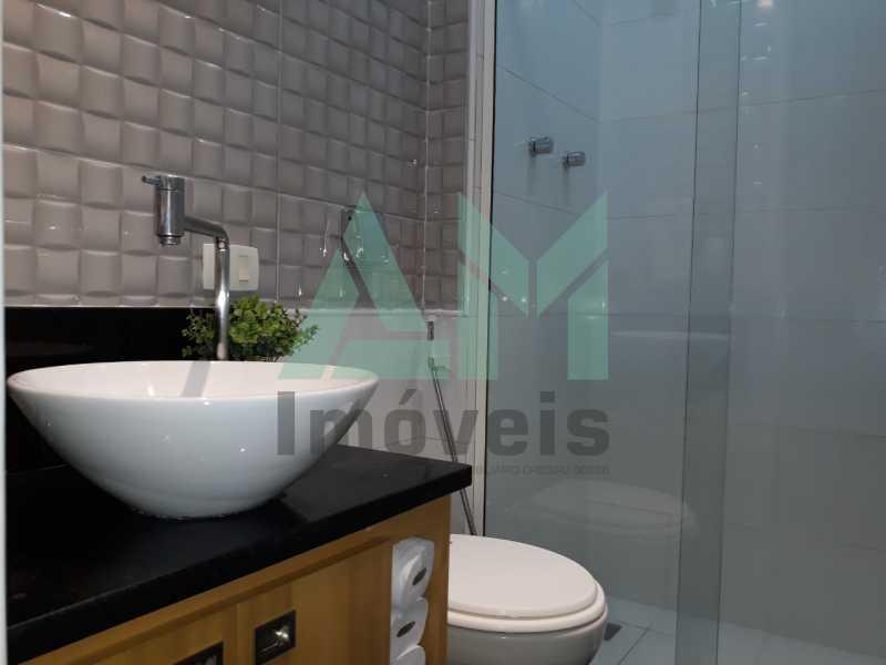 Banheiro Social - Apartamento À Venda - Tijuca - Rio de Janeiro - RJ - 1185 - 15