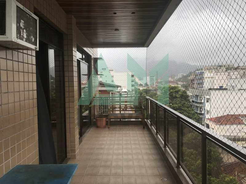 Varanda - Apartamento À Venda - Tijuca - Rio de Janeiro - RJ - 1004 - 3