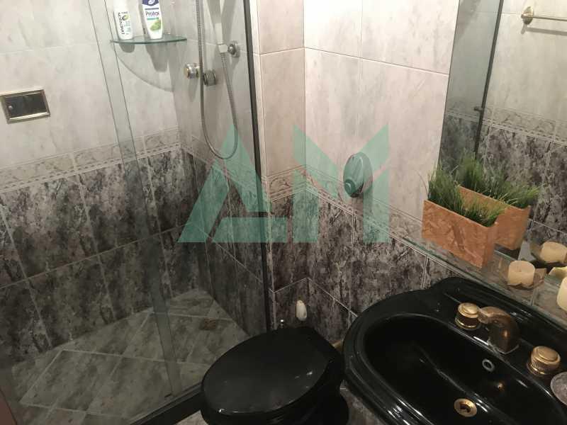 Banheiro social - Apartamento À Venda - Tijuca - Rio de Janeiro - RJ - 1004 - 15