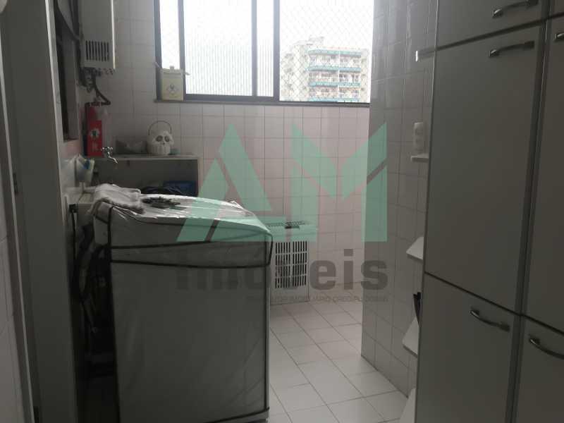 Área de serviço - Apartamento À Venda - Tijuca - Rio de Janeiro - RJ - 1004 - 19