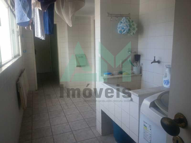Área de Serviço - Apartamento À Venda - Tijuca - Rio de Janeiro - RJ - 1047 - 24