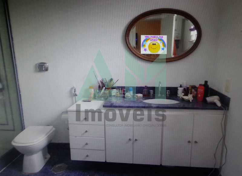 Banheiro Suíte - Apartamento À Venda - Tijuca - Rio de Janeiro - RJ - 1047 - 18