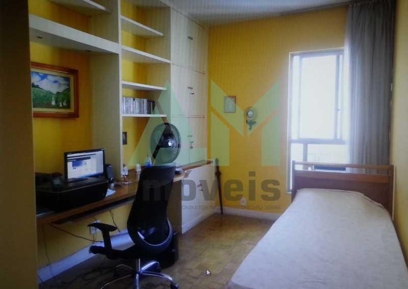 Quarto - Apartamento À Venda - Tijuca - Rio de Janeiro - RJ - 1047 - 11