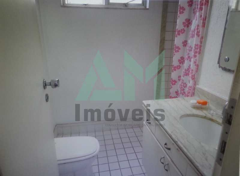 Banheiro Suíte - Apartamento À Venda - Tijuca - Rio de Janeiro - RJ - 1047 - 19