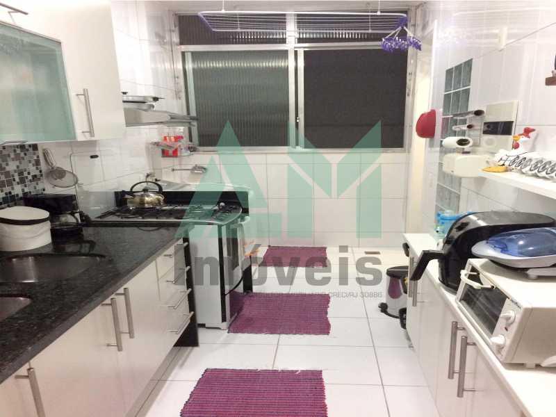 Cozinha - Apartamento À Venda - Tijuca - Rio de Janeiro - RJ - 1066 - 16