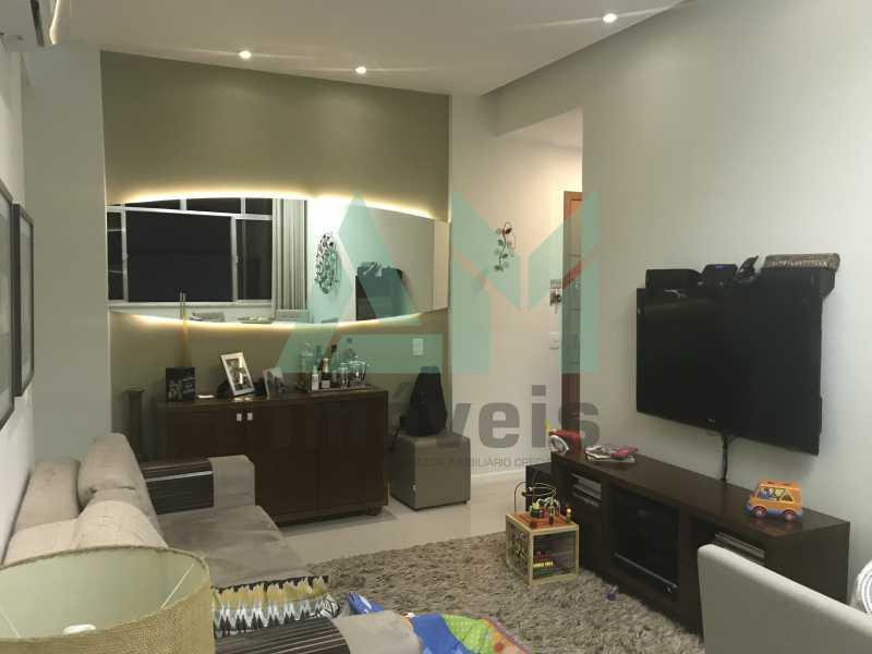 Sala - Apartamento À Venda - Tijuca - Rio de Janeiro - RJ - 1066 - 4