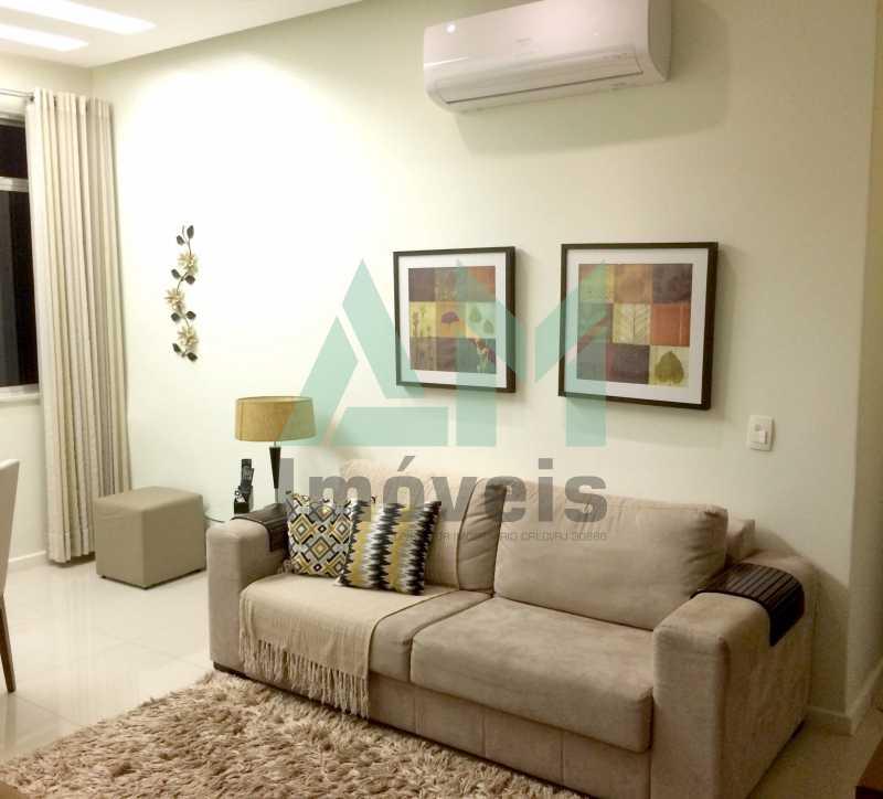 Sala - Apartamento À Venda - Tijuca - Rio de Janeiro - RJ - 1066 - 1