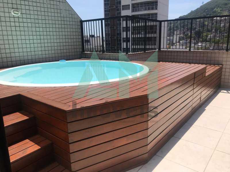 Piscina - Cobertura À Venda - Tijuca - Rio de Janeiro - RJ - 1080 - 4