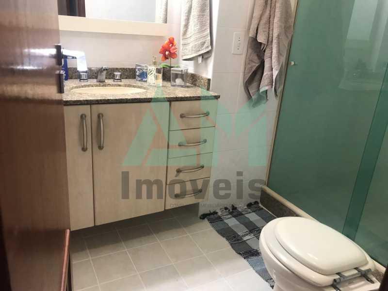 Banheiro Suíte - Cobertura À Venda - Tijuca - Rio de Janeiro - RJ - 1080 - 19
