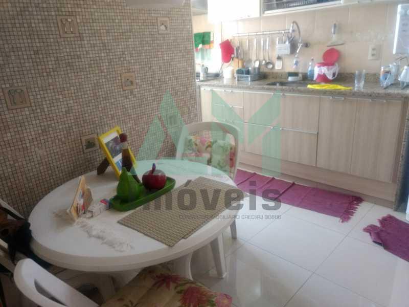Cozinha - Apartamento À Venda - Tijuca - Rio de Janeiro - RJ - 1079 - 17