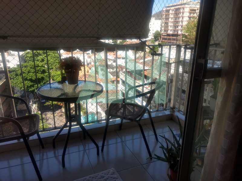 Varanda - Apartamento À Venda - Tijuca - Rio de Janeiro - RJ - 1079 - 3