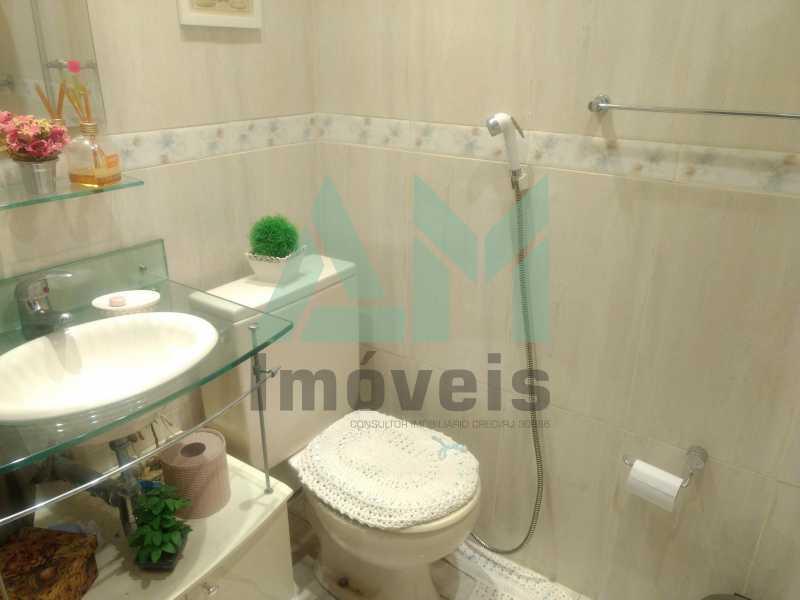 Banheiro Social - Apartamento À Venda - Tijuca - Rio de Janeiro - RJ - 1079 - 11