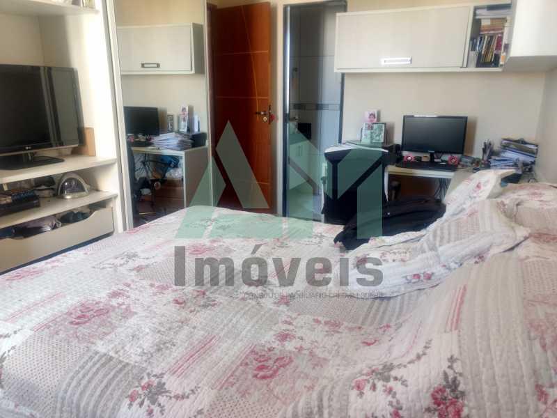 Quarto - Apartamento À Venda - Tijuca - Rio de Janeiro - RJ - 1079 - 7