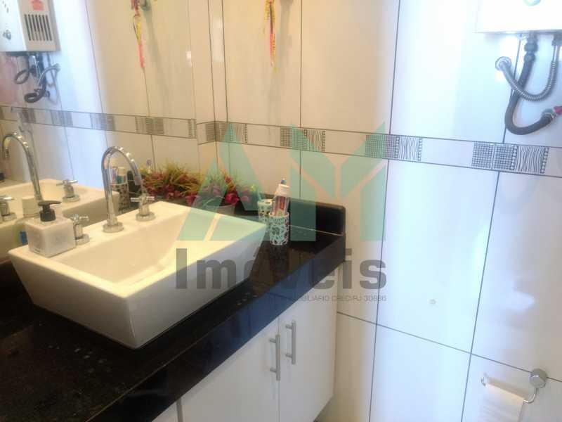 Banheiro Suíte - Apartamento À Venda - Tijuca - Rio de Janeiro - RJ - 1079 - 12