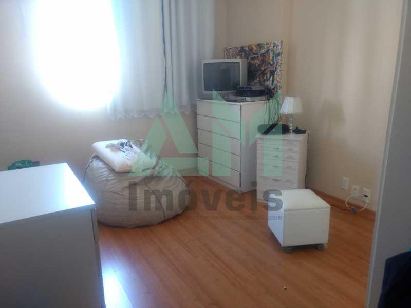 Quarto - Apartamento À Venda - Tijuca - Rio de Janeiro - RJ - 1079 - 10