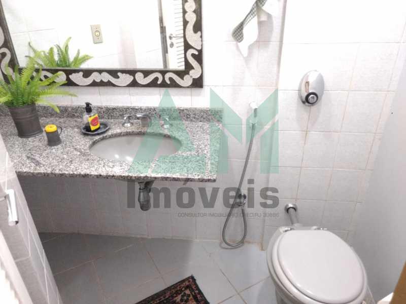 Banheiro Suíte - Cobertura À Venda - Tijuca - Rio de Janeiro - RJ - 1088 - 17
